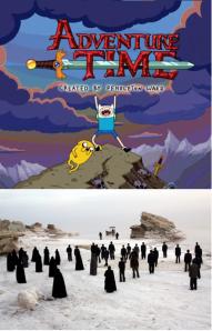 Adventure Time + The White Meadows = Adventure Meadows